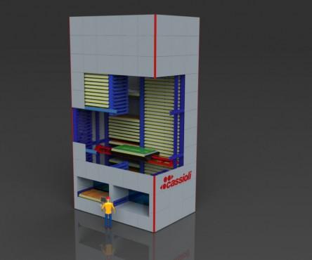 Magazzini verticali: Vertimax XL